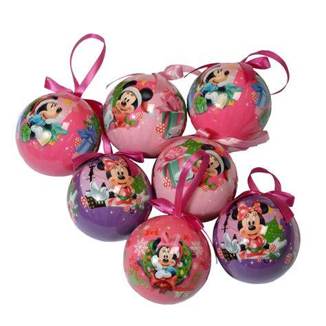 coffret de 7 boules de no 235 l disney minnie boule de no 235 l eminza