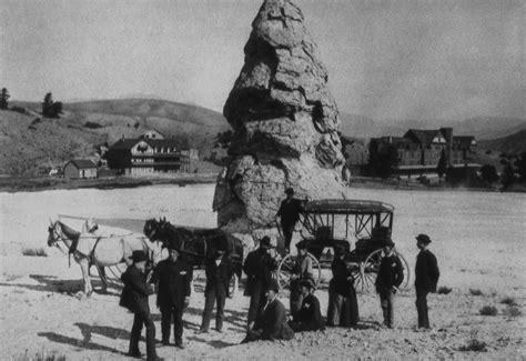yellowstone history liberty cap yellowstone insider