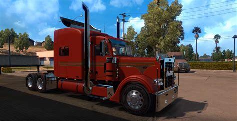 peterbilt  truck  ats american truck simulator mod