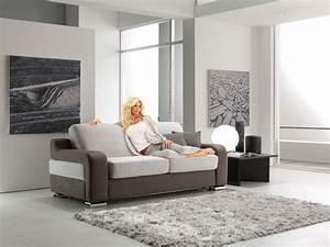 chateau d ax canape lit meuble de salon contemporain With chateau d ax canapé lit
