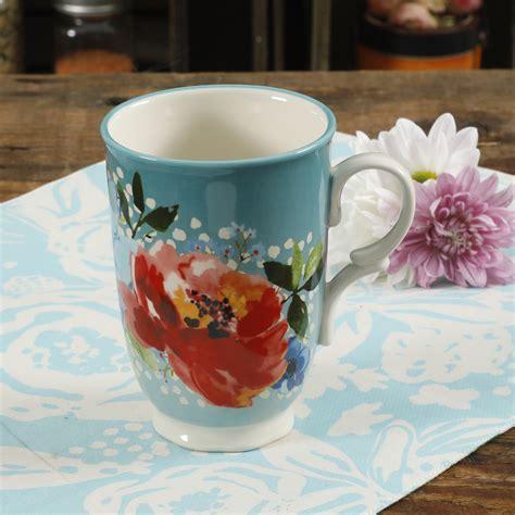 Последние твиты от melody coffee (@melodycoffee). The Pioneer Woman Melody 18 Oz. Teal Floral Mug - Walmart.com
