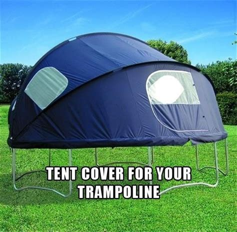 Ground Cover Under Tent by Diy Use A Tent To Cover Ur Troline N Have A Sleep Over