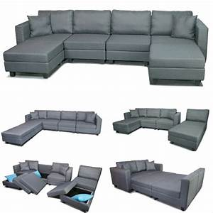 Waterloo 6pc modular sofa with storage http bitly for Small sectional sofa toronto