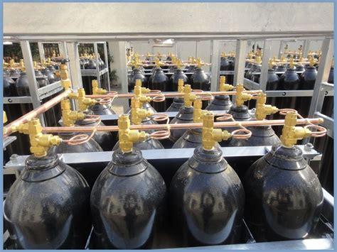 Nitrogen Cylinder Rack dnv offshore used mobile nitrogen cylinder rack with 16 18