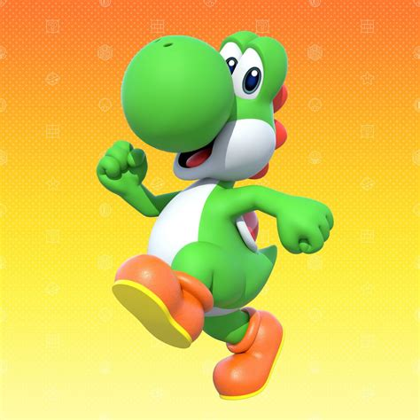 mario party 10 yoshi character profile artwork official wii u