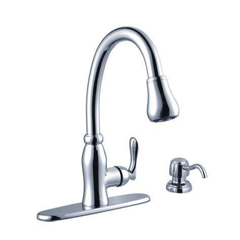 Glacier Bay Faucet Installation by Glacier Bay Pavilion Single Handle Pull Sprayer
