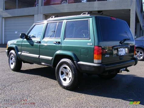 jeep cherokee sport   forest green pearl photo