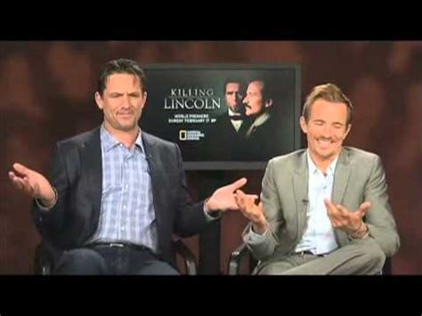 Killing Lincoln Exclusive Billy Campbell And Jesse