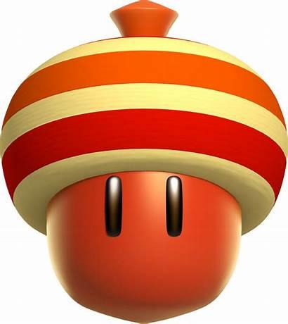 Acorn Super Mario Bros Deluxe Face