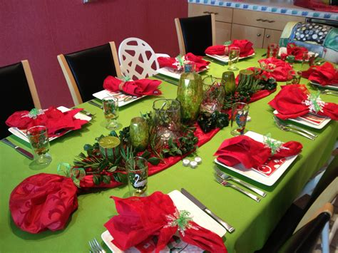 and green christmas table decorations family and my christmas mary sherwood lifestyles