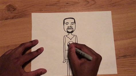 speed drawing kevin durant stick figure youtube