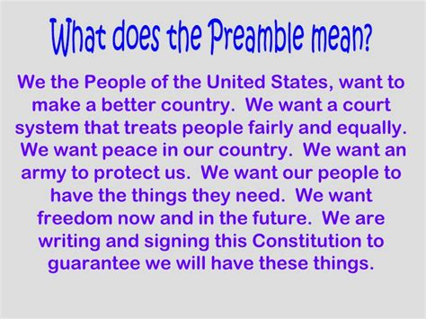 Constitution Of The Usa Detailed Lesson