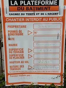 Panneau Déclaration Préalable : panneau dclaration pralable amazing amazing panneau de d ~ Dode.kayakingforconservation.com Idées de Décoration