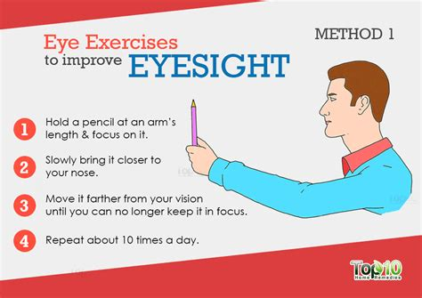 How to improve eyesight at home