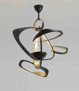 Lustre Pour Salon : lustre bois pas cher ~ Premium-room.com Idées de Décoration