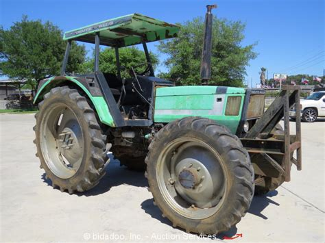 Deutz-allis 7085 4wd Diesel Tractor Utility Ag Farm Dual