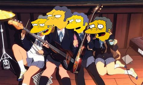 Moe Anime Wallpaper - moe the simpsons wallpaper 1280x768 265592
