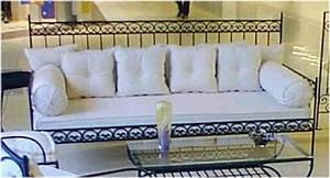 Canapé Fer Forgé : chaise jardin fer forg vendre elegant canape fer forge a vendre fauteuille marocain salon ~ Teatrodelosmanantiales.com Idées de Décoration