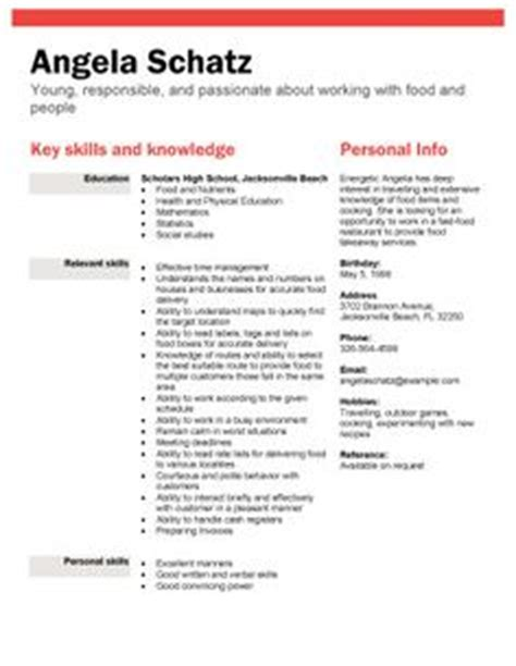 resume sles students no experience resume template for teenagers resume sle for 15 and 16 year olds tips