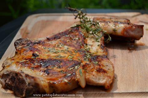 côte de veau grillée à l 39 estragon petits plats entre amis