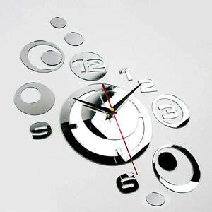 Große Uhr Wand by Wanduhr Spiegel Ebay