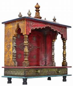 Jordaar Wooden Red Temple: Buy Jordaar Wooden Red Temple