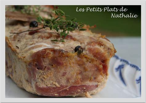 cuisiner le faisan terrine de faisan les petits plats de nathalie