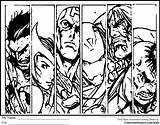Avengers Coloring Printable Comics Simple Avenger Widow Coloriage Boys Superhero Super Visitar Symbolism Faces Popular Zentangles sketch template