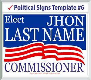 modern political campaign templates image example resume With campaign yard sign templates