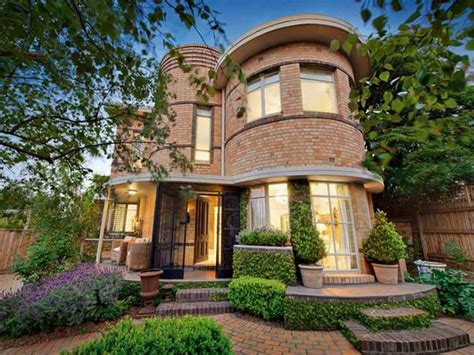 Art Deco Home Style : Art Deco Waterfall House Melbourne Art Deco