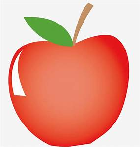 A Big Red Apple  Vector Diagram  Red Food  Big Apple Png