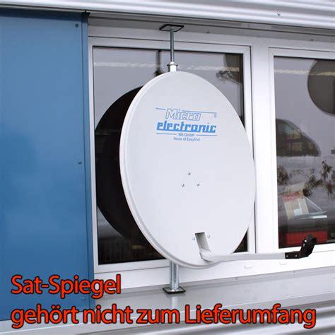 sat schüssel flach sat fenster rahmen halterung f 252 r selfsat flach antenne spiegel sch 252 ssel stahl ebay