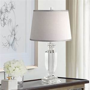 Crystal, Bedroom, Table, Lamps