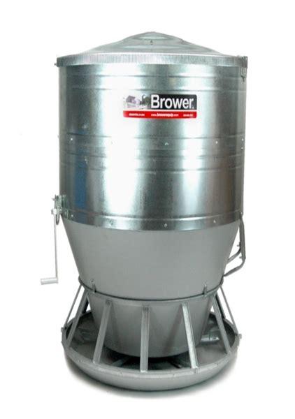 brower 174 outdoor bulk hog feeders hog slat
