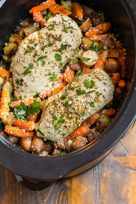 These crockpot chicken recipes will help you to get delicious meals on your table with little effort. Crockpot Chicken and Potatoes is one of the best healthy ...