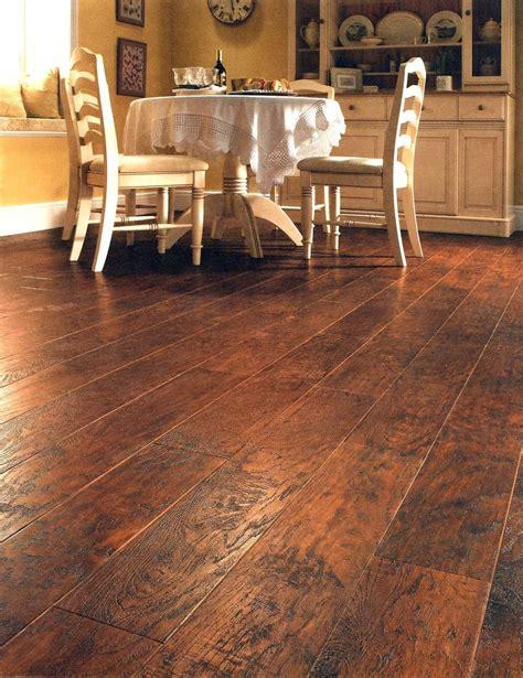 rustic natural vinyl planks home interior flooring