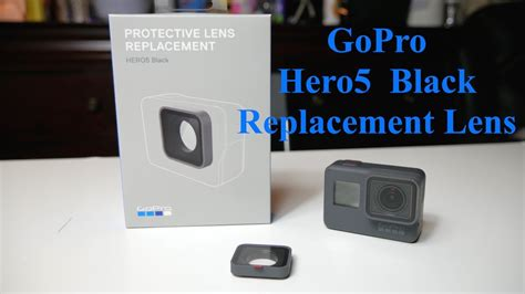 gopro hero protective lens replacement removalinstall