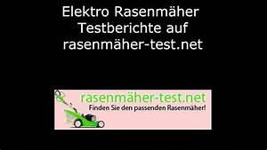 Rasenmäher Test Elektro : elektro rasenm her test youtube ~ A.2002-acura-tl-radio.info Haus und Dekorationen