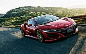 Download wallpapers 2020, Acura NSX, exterior, red sports ...