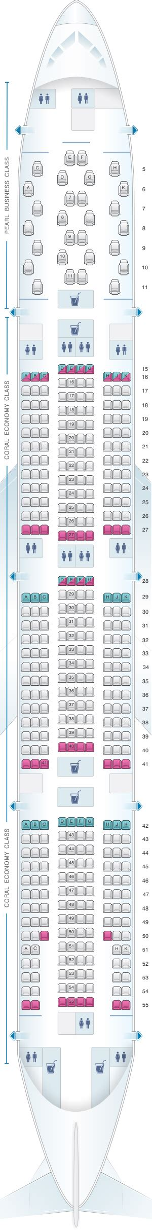 plan siege boeing 777 300er plan de cabine etihad airways boeing b777 300er 2class v1