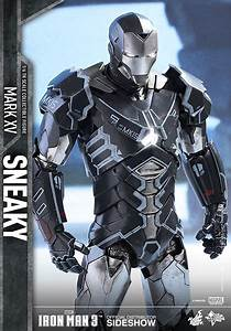 Marvel Iron Man Mark XV - Sneaky Sixth Scale Figure by Hot ...