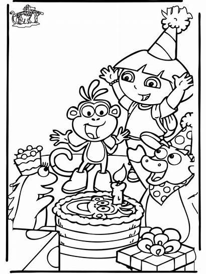 Kleurplaat Verjaardag Ploo