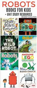 Robot Books For Kids  Unit Study