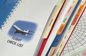 Airplane Operations Manual Stock Illustration