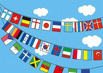 Clipart Flags International Transparent Graphic Area Flag