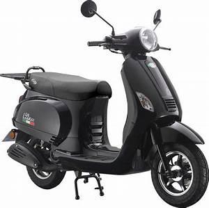 Motorroller 50 Ccm : motorroller lux 50 50 ccm 45 km h f r 2 personen ~ Kayakingforconservation.com Haus und Dekorationen