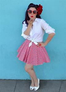 Best 25+ 50s costume ideas on Pinterest | DIY 50s Halloween costumes Rosie the riveter party ...