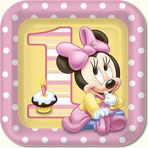 Minnie Mouse 1st Birthday Party Supplies - kids party ...
