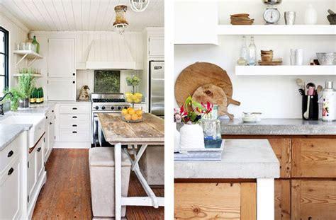 lo que debes llevar a cocinas blancas rusticas decorar con madera una cocina blanca