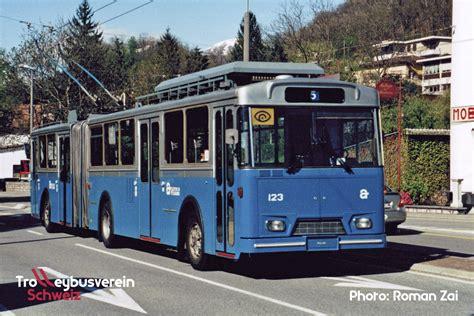 trolleybusverein schweiz verkehrsbetriebe lugano actl